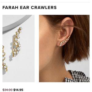 BaubleBar Farah Crawler Earrings